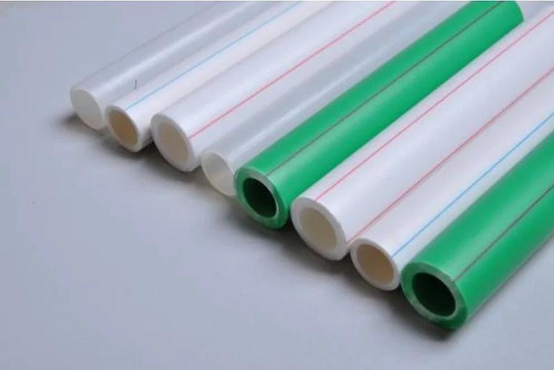白色ppr管和绿色ppr管