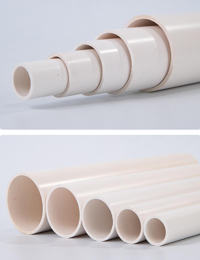 长葛市清潩河治理项目在洁尔康采购PVC供水管及PVC管件