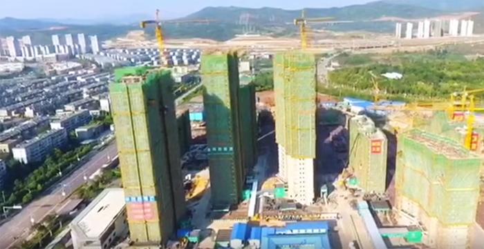 中交武汉•锦绣雅郡在洁尔康采购PPR管材及PPR管件